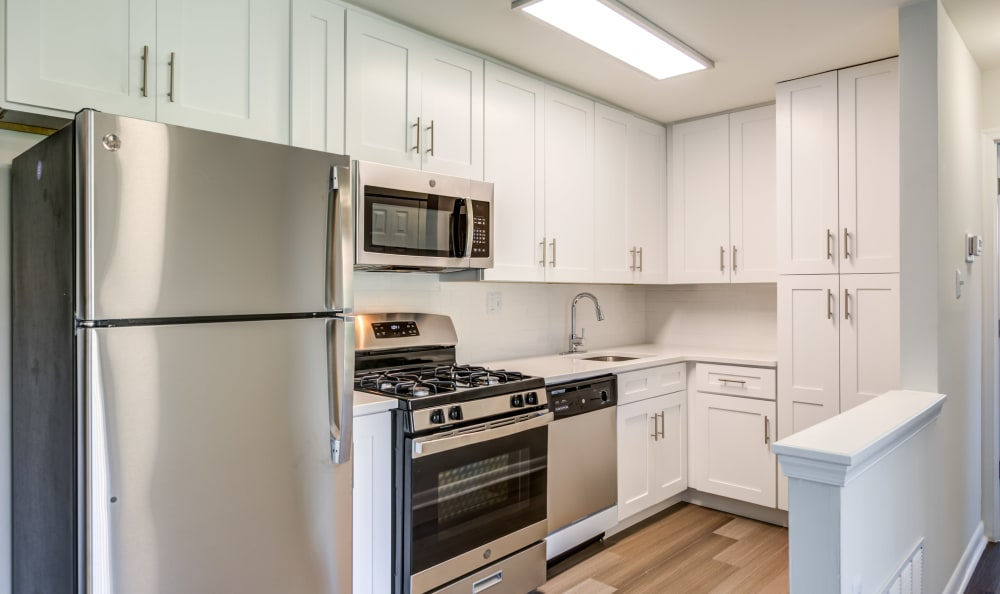 Beautiful kitchen at Capital Crossing in Suitland, Maryland