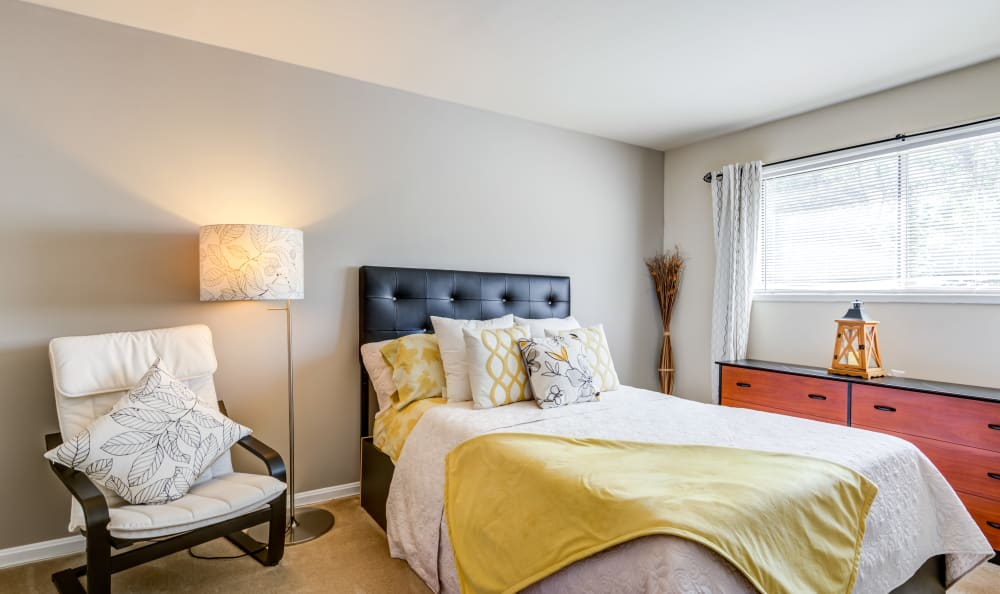 Bedroom at Capital Crossing in Suitland, Maryland