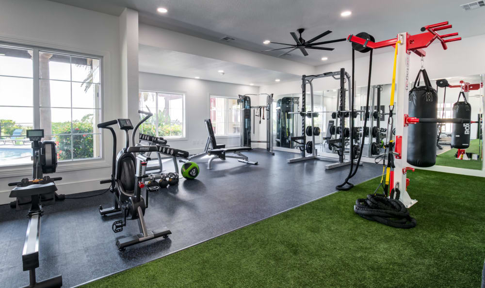 Fitness Center at Apartments in Corpus Christi, Texas
