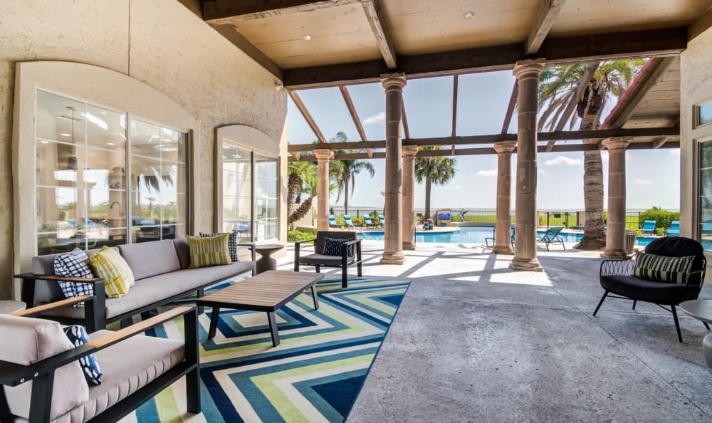 Enjoy Apartments with a outdoor patio at Baypoint