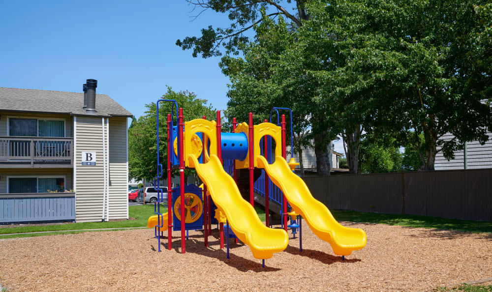 Play ground equipment at Arbor Chase Apartment Homes in Kent, WA