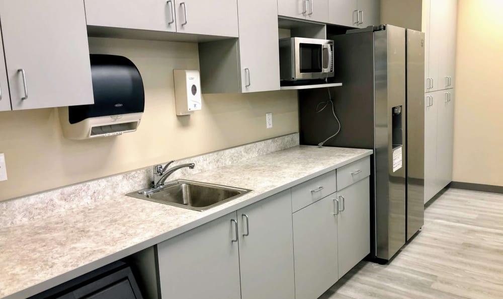 Private kitchen at HOLI Senior Living in Hillsboro, OR