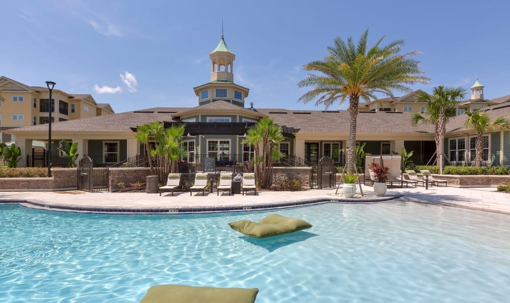 Pool view of Integra 360 Apartment Homes apartments in Winter Springs, Florida