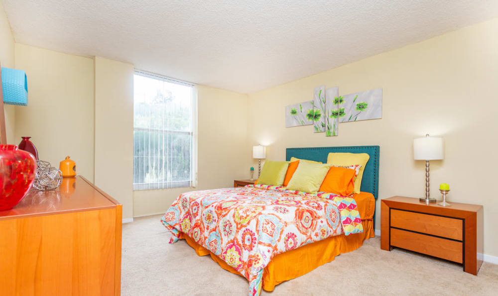 Bedroom at Forest Place Apartments in Miami