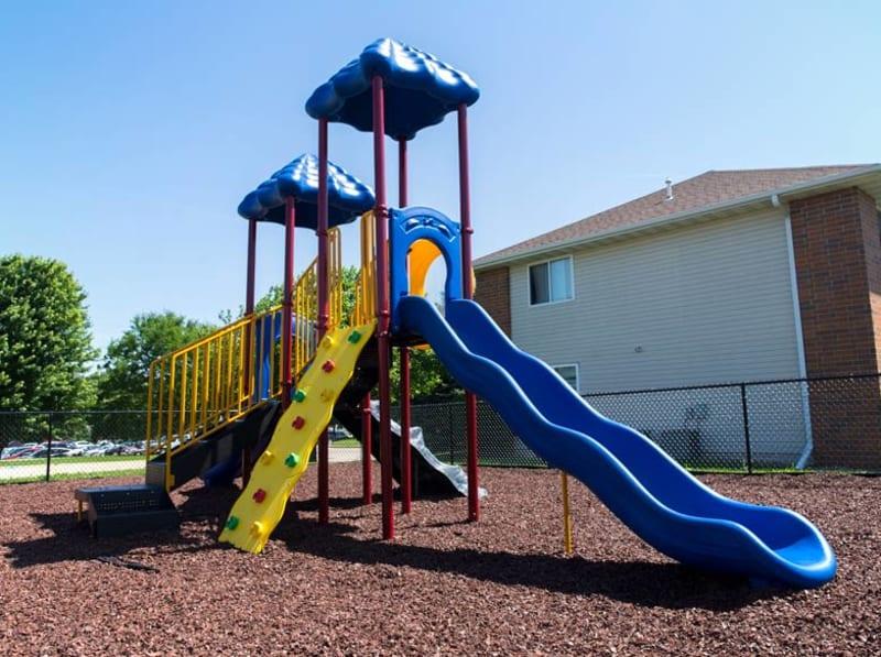 Playground at Prairie Reserve in Cedar Rapids, Iowa