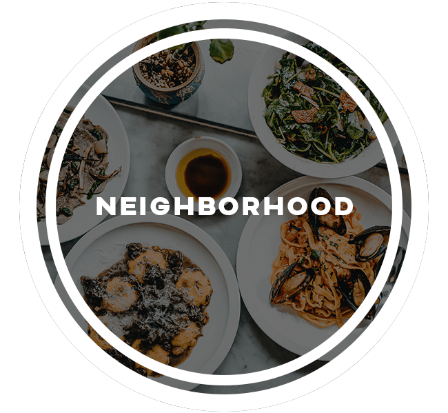 Neighborhood at Beckett Park in Smyrna, Georgia