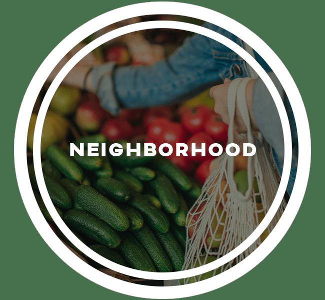 Neighborhood at Lexington Park Apartments in Smyrna, Georgia