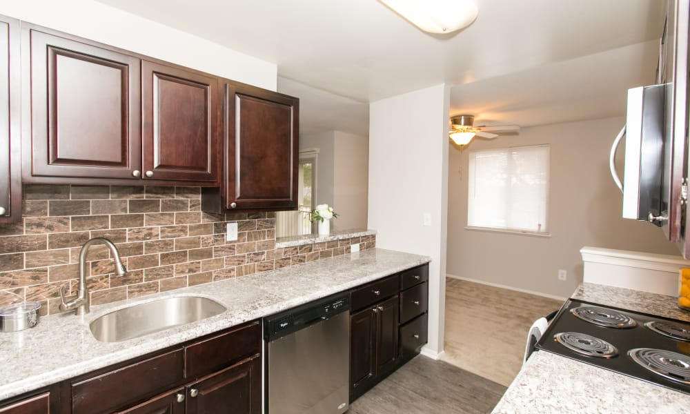 Our apartments in Parkville, Maryland offer a spacious kitchen