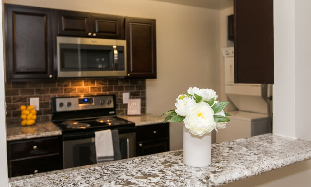 Beautiful interiors at Skylark Pointe Apartment Homes in Parkville, Maryland