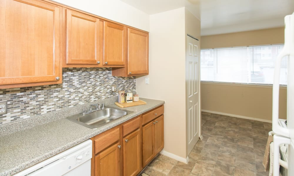 Skylark Pointe Apartment Homes in Parkville, Maryland offers apartments with custom cabinetry