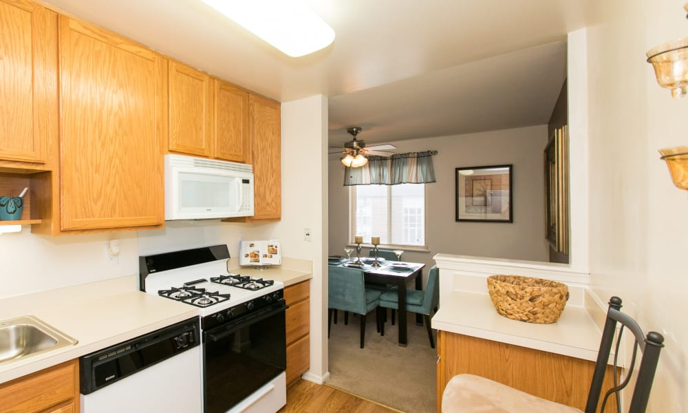 Parkville, Maryland apartments with energy-efficient appliances