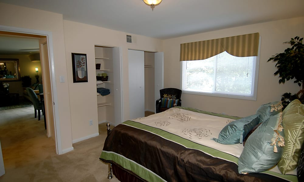 Bedroom at Harbor Place Apartment Homes in Fort Washington, Maryland