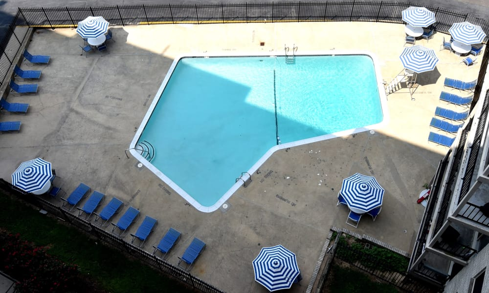 Our apartments in Hyattsville, Maryland offer a swimming pool