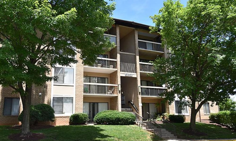 Montgomery Trace Apartment Homes Exterior in Silver Spring, Maryland