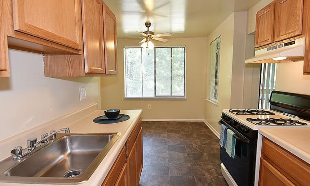 Our apartments in Silver Spring, Maryland showcase a spacious kitchen