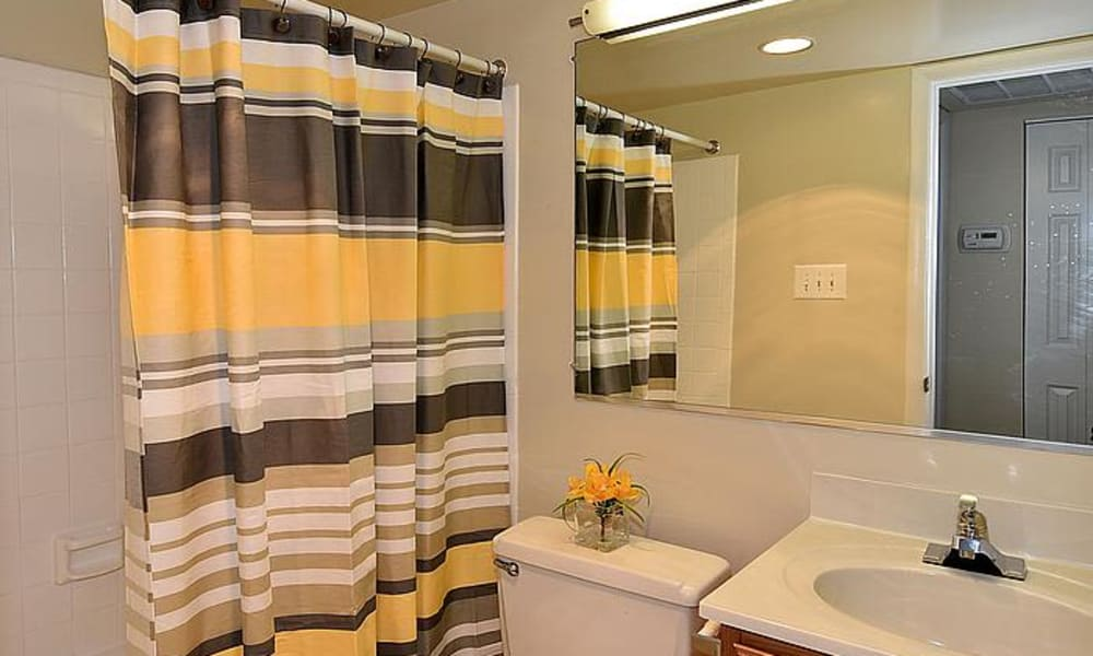 Our apartments in Silver Spring, Maryland offer a bathroom