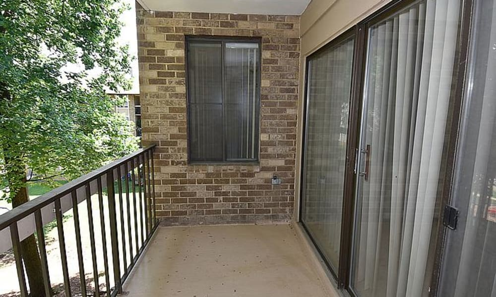 Silver Spring, Maryland apartments with a private balcony