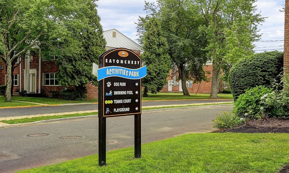 Activities Park at apartments in Eatontown, New Jersey