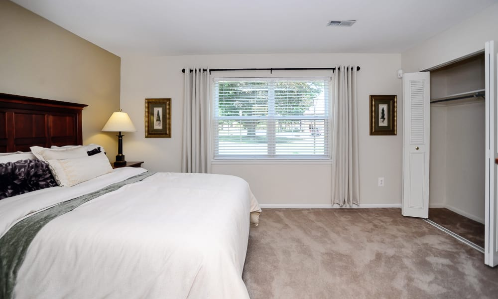Our apartments in Eastampton, New Jersey offer a bedroom