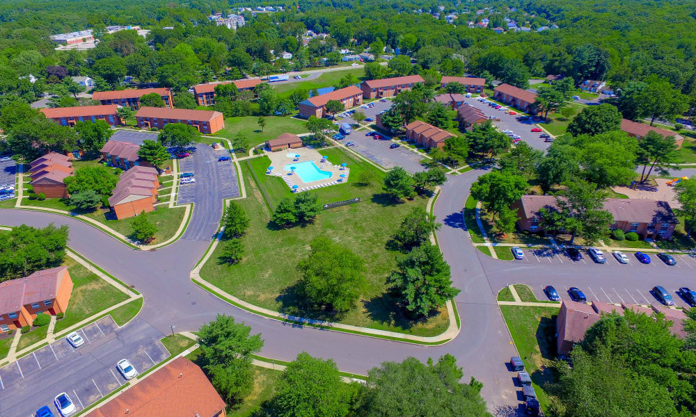 Neighborhood at Sherwood Village Apartment & Townhomes in Eastampton, New Jersey