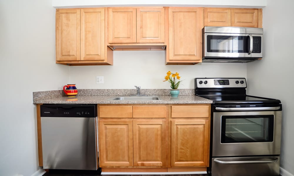 Our apartments in Maple Shade, New Jersey showcase a beautiful kitchen