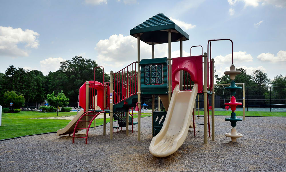 A playground that is great for entertaining at apartments in Maple Shade, New Jersey