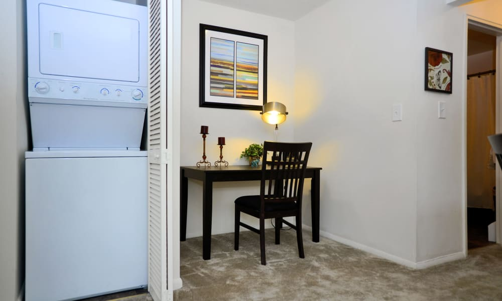 Nieuw Amsterdam Apartment Homes in Marlton, NJ provides residents a in unit washer and dryer
