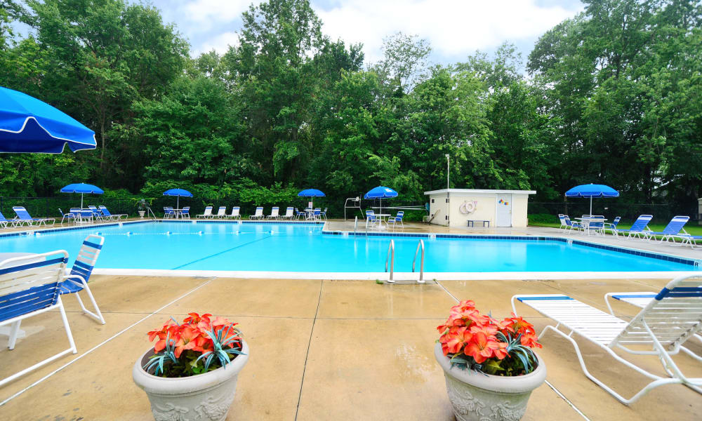 Swimming Pool at Nieuw Amsterdam Apartment Homes in Marlton, NJ