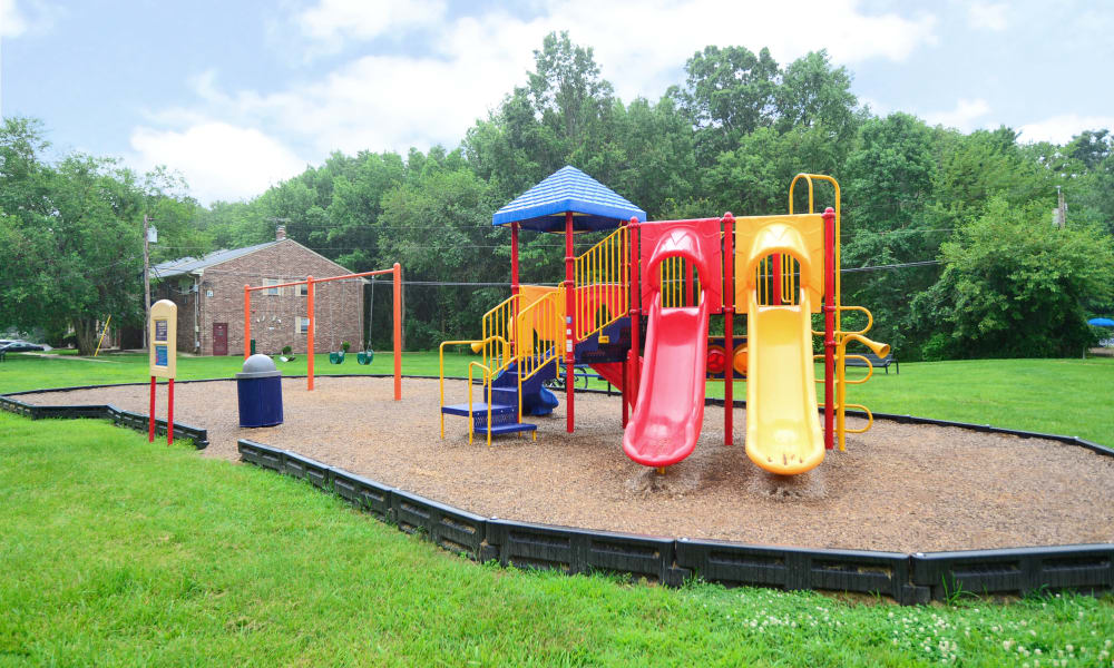 On-site playground at Nieuw Amsterdam Apartment Homes in Marlton, NJ