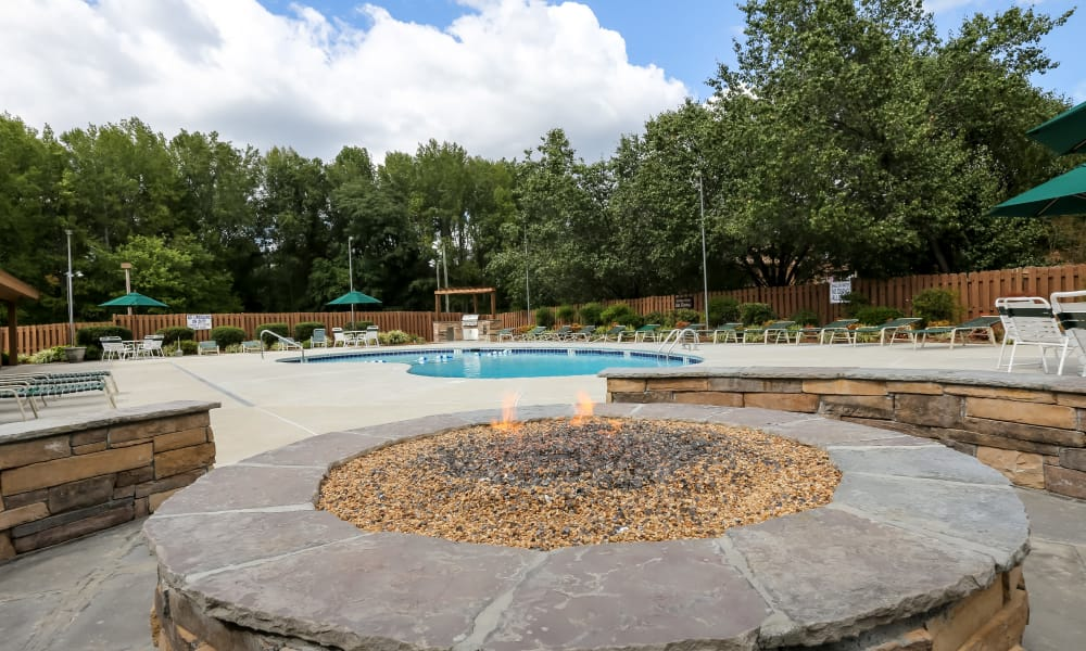 Riverwind Apartment Homes offers a great for entertaining swimming pool in Spartanburg, South Carolina