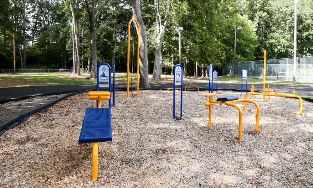 Playground at Riverwind Apartment Homes in Spartanburg, South Carolina