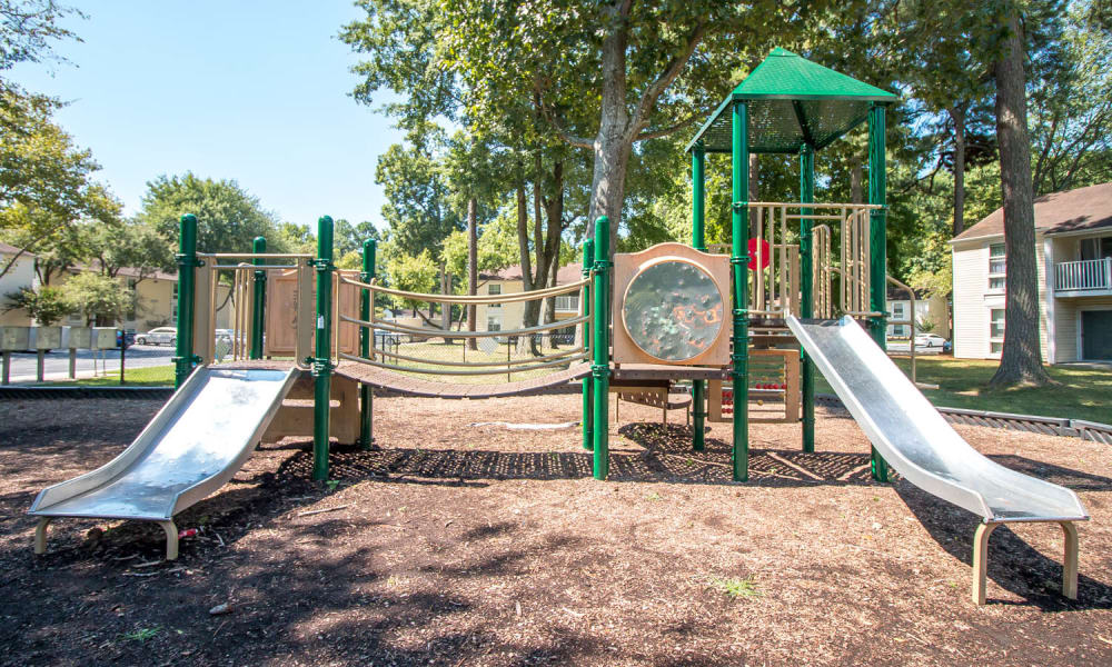 Monarch Crossing Apartment Homes offers a playground in Newport News, Virginia