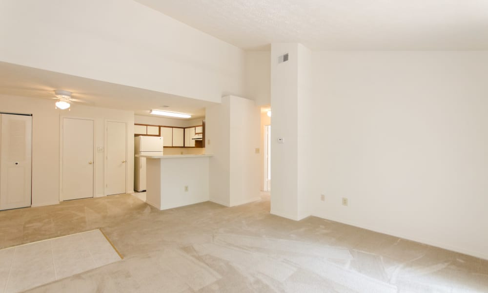 The Pointe at Stafford Apartment Homes has spacious floor plans available in Stafford, VA