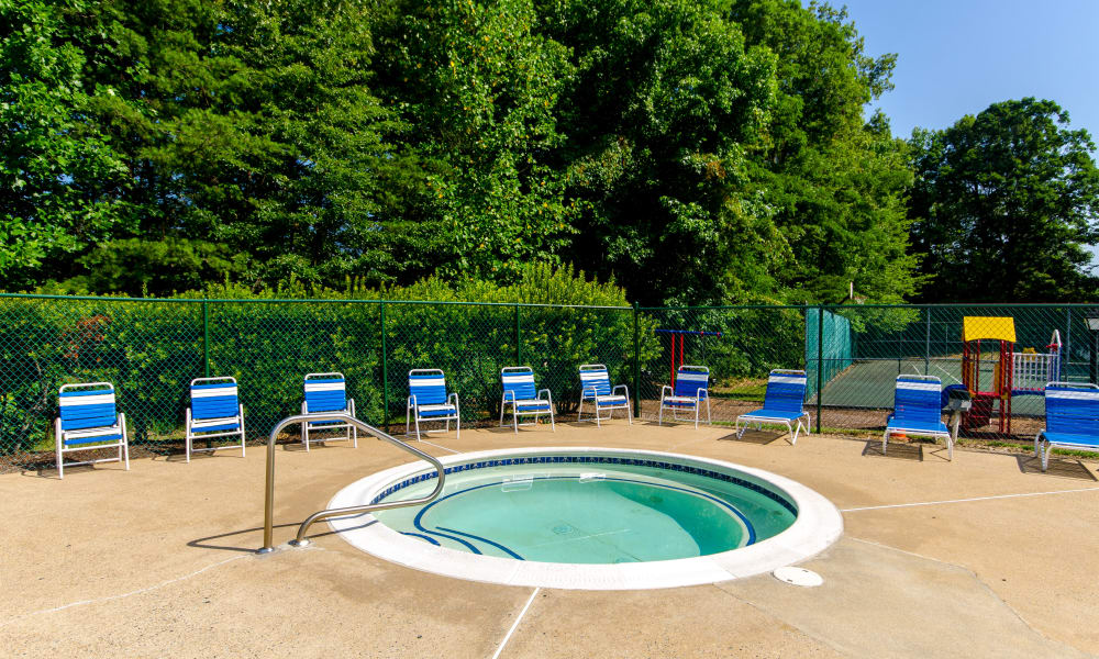 Pamper yourself in the spa at The Pointe at Stafford Apartment Homes in Stafford, VA