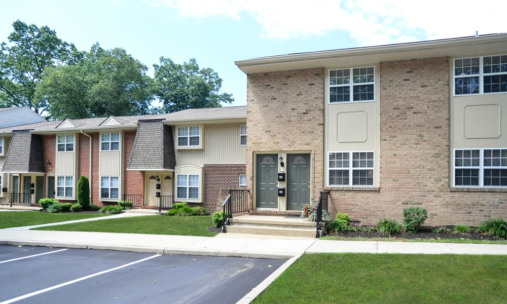 Another nice exterior of Moorestowne Woods Apartment Homes in Moorestown, NJ