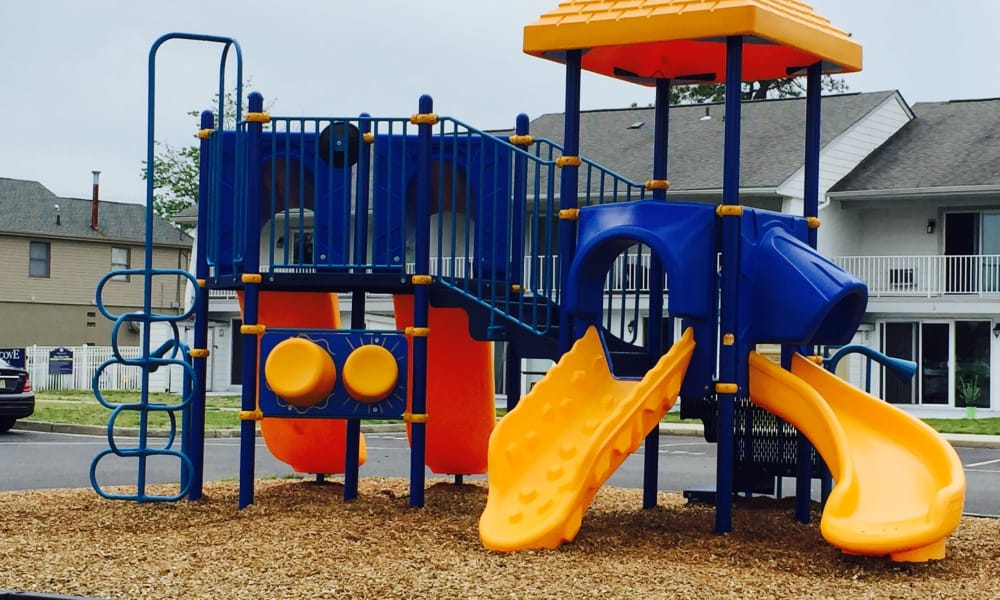 Mariners Cove Apartment Homes has an on-site playground in Toms River, NJ