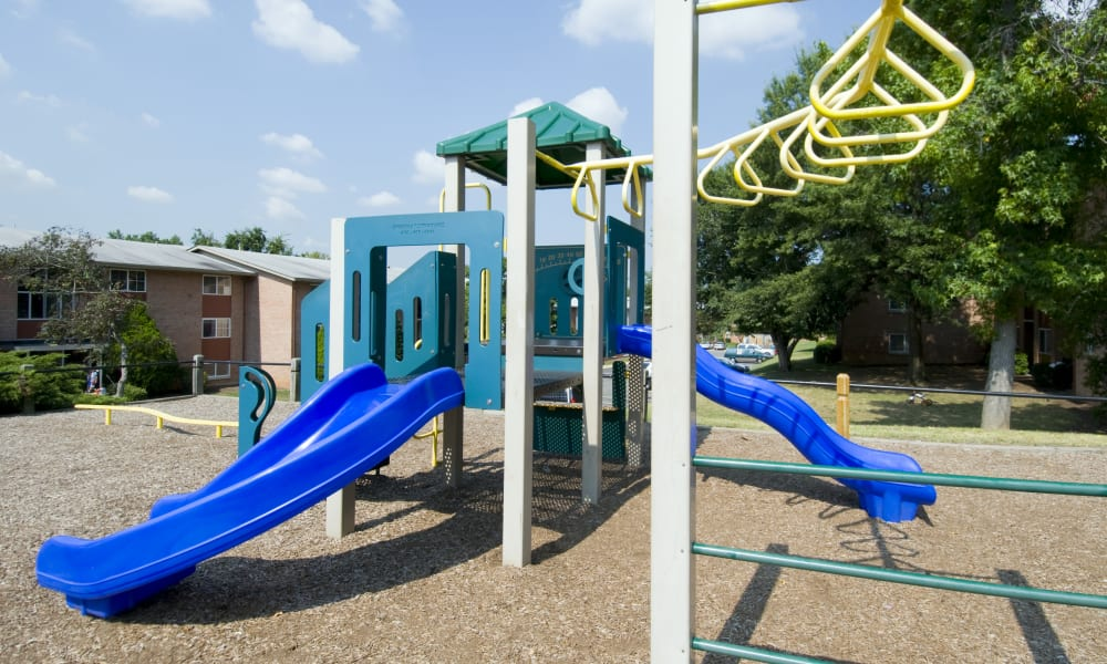 Willow Run at Mark Center Apartment Homes offers a playground in Alexandria, VA