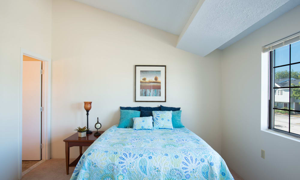 Master bedroom at Wellington Hill