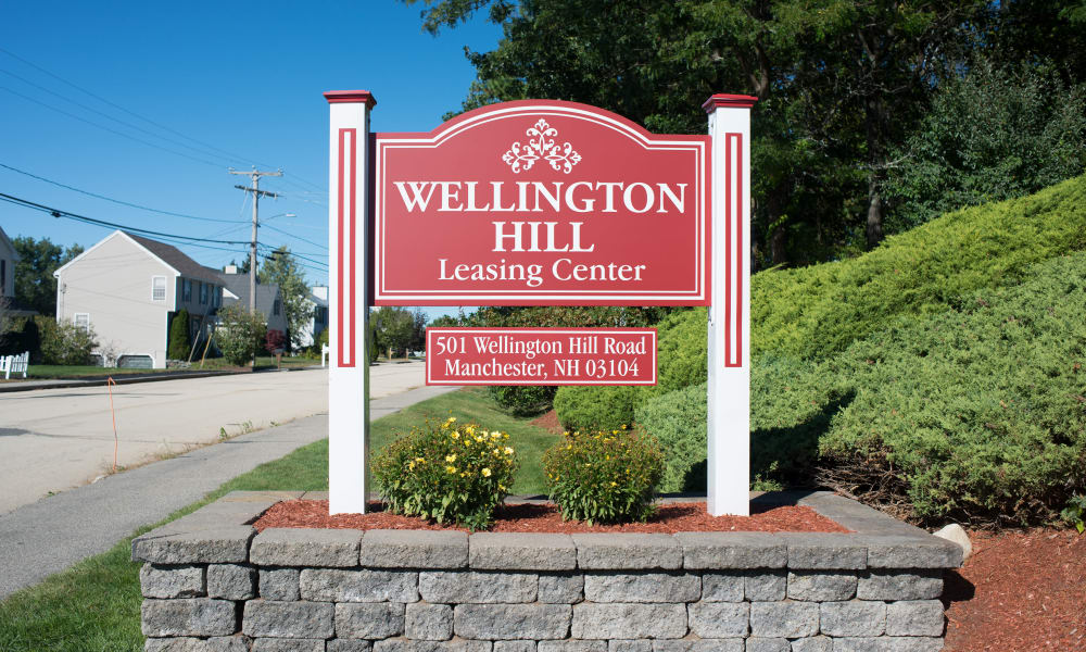 Wellington Hill Signage