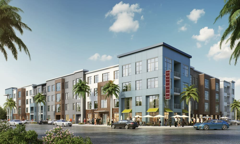 Exterior of Solstice Signature Apartment Homes