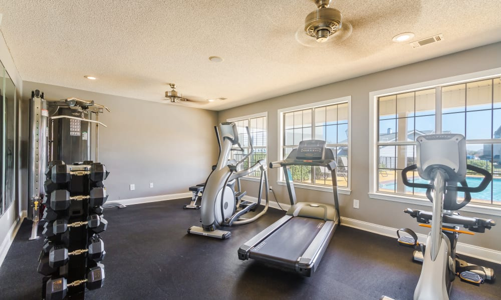 Stay healthy in our fitness center in Bonaire, GA