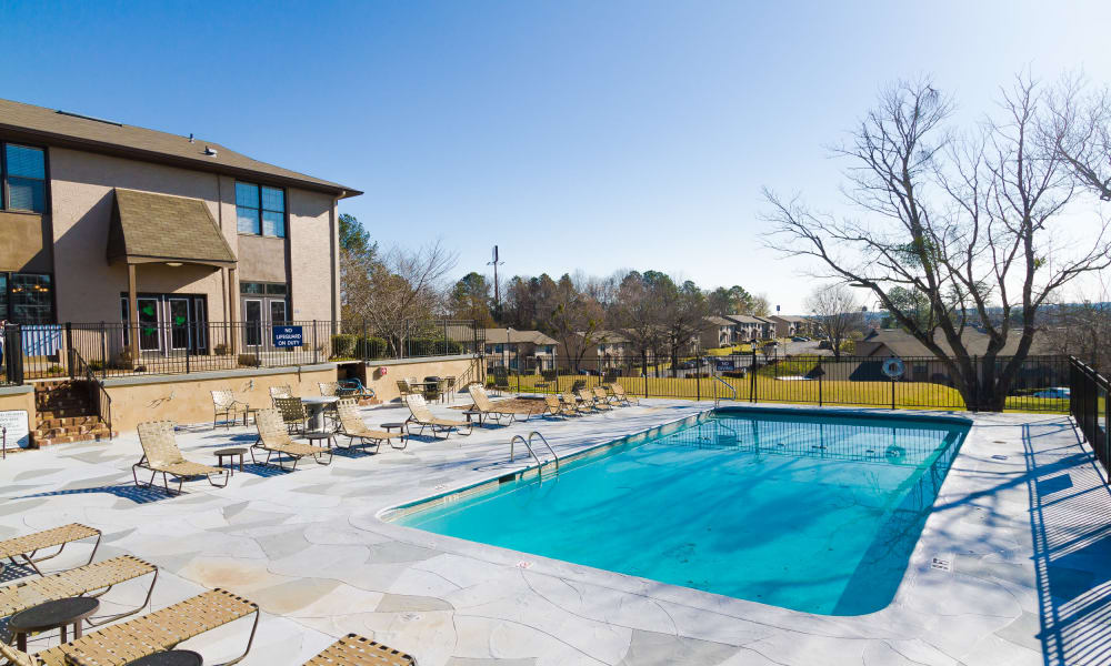 Dwell on Riverside offers a refreshing pool in Macon