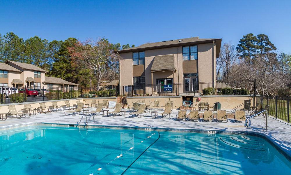 Dwell on Riverside swimming pool in Macon, GA