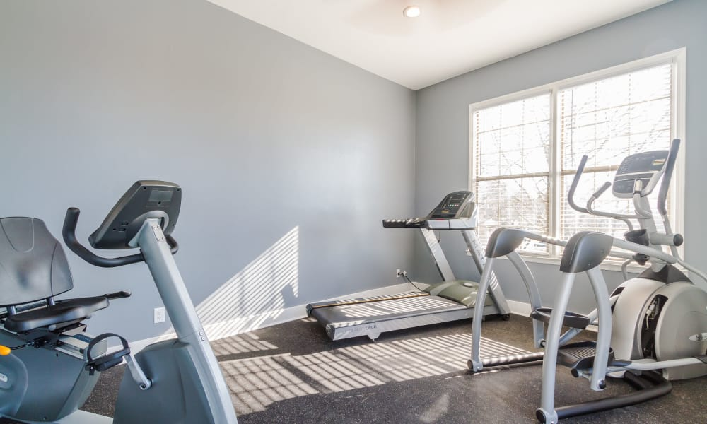Stay healthy in our fitness center in Macon, GA