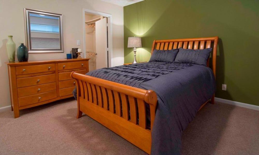 Cozy bedroom at The Springs in Smyrna, GA