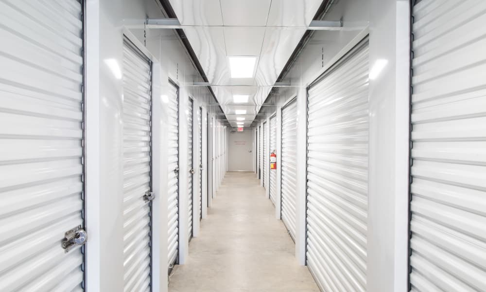 Hallway of units at My Oxford Storage