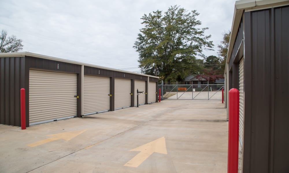 My Oxford Storage offers easy access to units in Oxford, MS