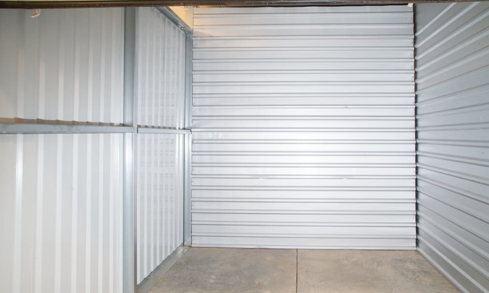 Interior view of unit at My Oxford Storage