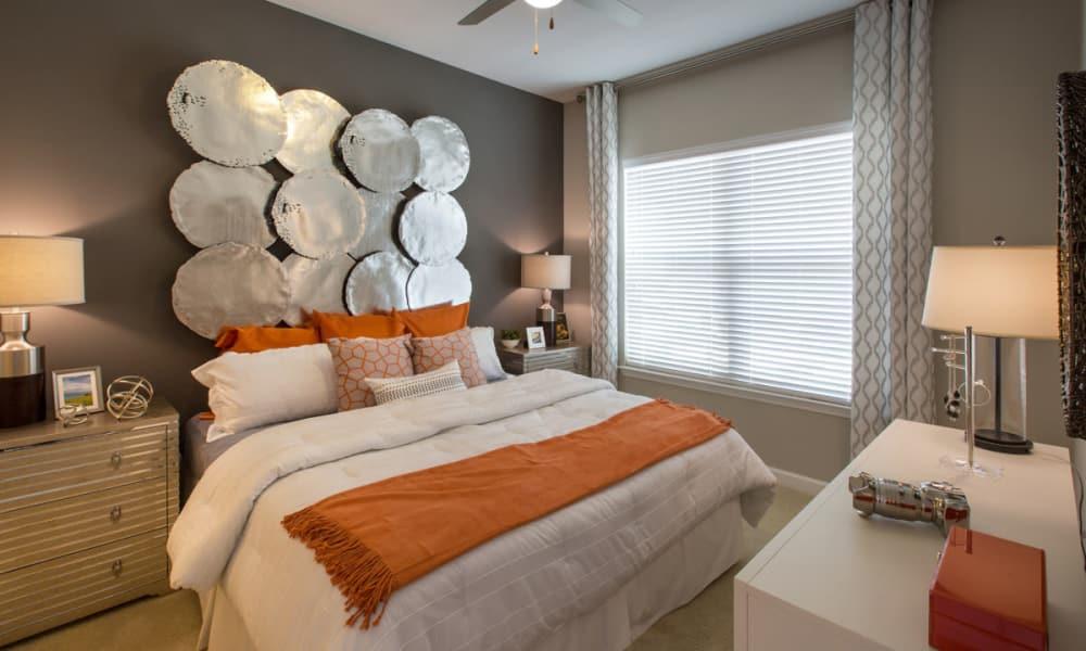 Master bedroom at Reserve Decatur in Decatur