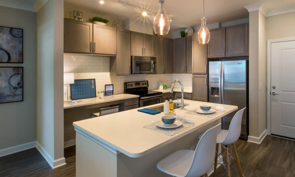 Stainless steel appliances at Reserve Decatur in Decatur